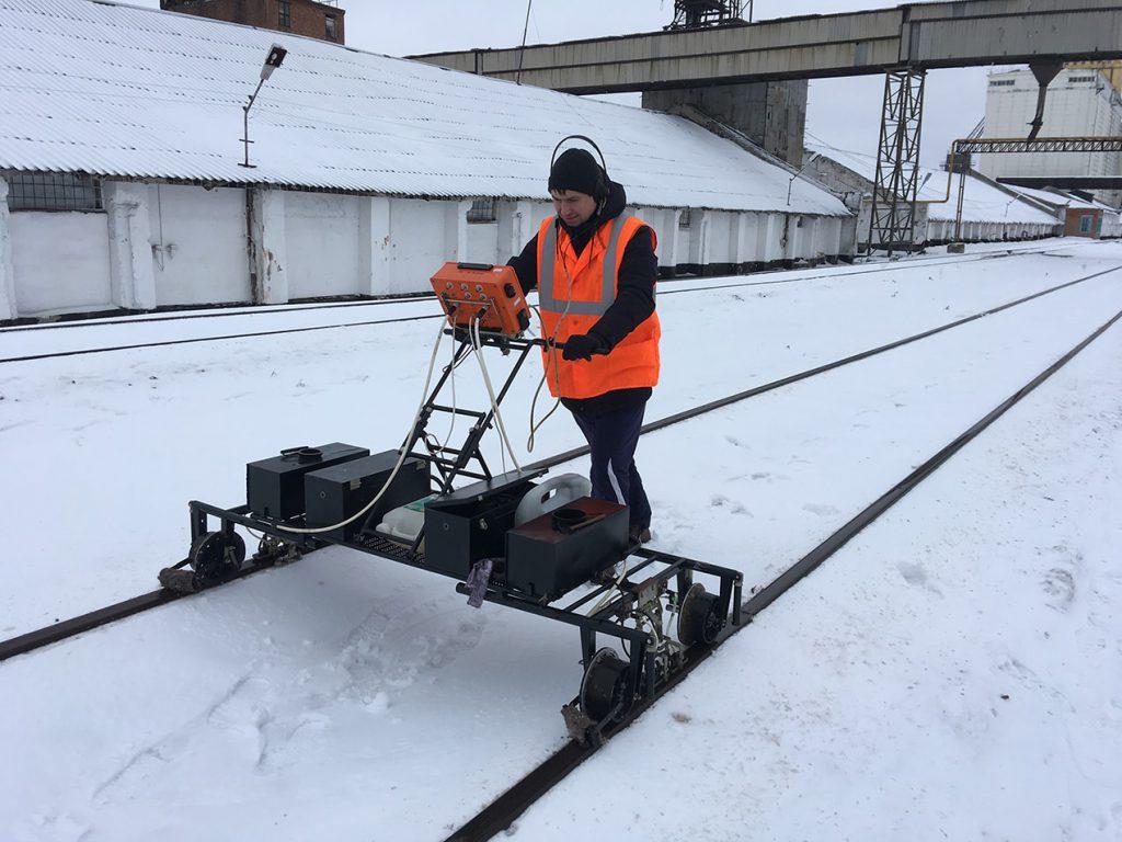 Дефектоскопия рельсов путей Новосибирск
